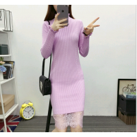 2018尾货杂款直销女装长款 韩版女装修身显瘦中长款百搭打底衫毛衣批发