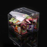亚克力有机玻璃板透明食品展示盒子箱子罩子收纳盒定做彩色亚克力