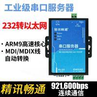 工业级双串口服务器ModbusTCP/RTU互转RS232/485转以太网 转232