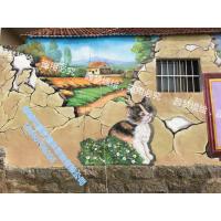 青岛墙体彩绘_颜梦墙绘