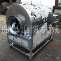 山博制造多功能炒货机 瓜子花生电加热滚筒炒果机 多种型号可定制