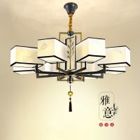 新中式吊灯客厅灯中国风现代简约大吊灯餐厅灯书房灯创意个性灯具