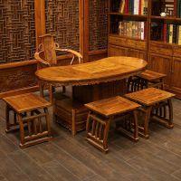 成都仿古家具定制_博古架定制_实木餐桌椅定做