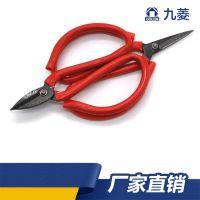 剪纸 剪刀尖头家用碳钢小剪刀剪子 裁缝剪厨房办公学生裁纸
