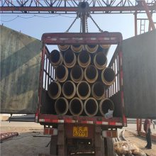 河北省聚氨酯供暖管道保温材料销售/耐高温直埋复合保温管规格表