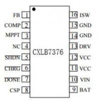 供应嘉泰姆驱动IC CXLB7376磷酸铁锂电流模式固定频率PWM升压型多种电池充电管理集成电路