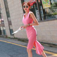太平鸟北京外贸尾货服装批发折扣女装 深圳的服装尾货批发市场在哪里棕色毛衣