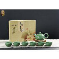 广州茶具套装定制,广州礼品茶具套定制logo,广州商务礼品定制紫砂茶具