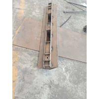 广安沃尔沃ABG8820摊铺机输料底板链保护悍达400耐磨板
