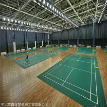 学校用体育木地板 价格随规格及结构 的不同而不同