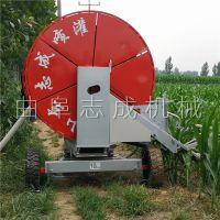 水涡轮驱动大型喷灌机 农作物浇地喷洒机 50-180大型移动式抗旱浇地机