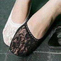 韩版春夏袜子女短袜浅口低帮防滑棉丝袜船袜蕾丝花边隐形袜