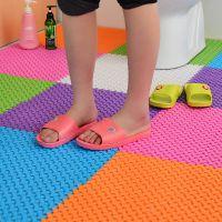厕所地垫拼接洗澡按摩卫生间防滑垫pvc厨房浴室地面塑料防水垫子