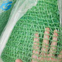 防检测绿色环保网 聚酯工地绿化网