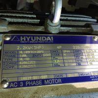韩国现代电机 HYUNDAI HL105FR242BPS 2.2KW 4P 220/380V 价格低