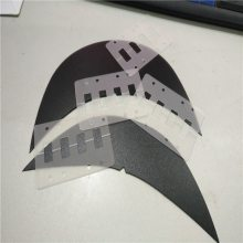 塑胶垫片 磨砂PP实心隔板 绝缘塑料PP垫片 东莞正美 可免费拿样
