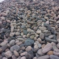 厂家直销3-5公分鹅卵石 水处理垫层鹅卵石 人工湖底用鹅卵石