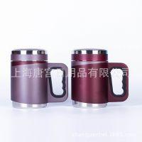 商务不锈钢真空保温杯创意定制LOGO商场促销广告杯便携家居泡茶杯