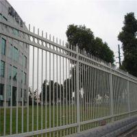 白色护栏网围墙 高档别墅锌钢护栏 锌钢围栏厂家