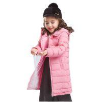 跨境专供新款韩版轻薄款女童儿童装羽绒棉服中长款 童羽绒服