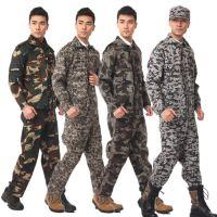 劳保工地装修户外CS对抗服迷彩服涤卡系列学生军训迷彩服套装