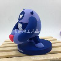 出口日本滴胶产品精美公仔  3D立体可爱熊猫造型家居装饰