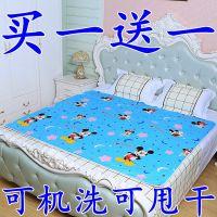 隔尿垫婴儿防水新生儿纱布婴儿垫子床上躺垫纯棉双面四季通用小号