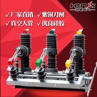 鸿曦zw32-12g/630a户外高压真空断路器保护器柱上隔离刀闸开关10KV
