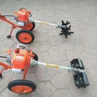 小型农田割草机 小型开荒割灌机 多功能农用收割机