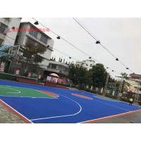 新余市小区用的篮球场地是什么材料 硅pu篮球场地施工专家