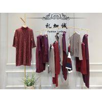 广州高品质折扣女装羊毛衣当季新品女装一手货源进货渠道