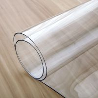 PVC桌面保护胶垫垫子透明软玻璃长方形书桌布电脑桌桌布塑料防水