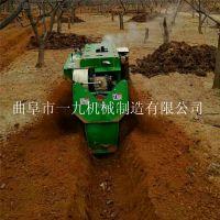 果樹施肥機_林場開溝施肥機履帶式果園肥開溝回填設備價格