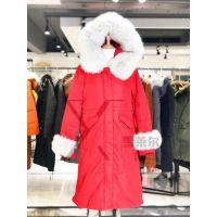 大码品牌女装折扣纯色M.coco羽绒服货源批发到广州雪莱尔看货新款组货包