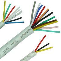 厂家直销 RVV4*0.5纯铜芯护套线软电源线信号控制线 电器电线