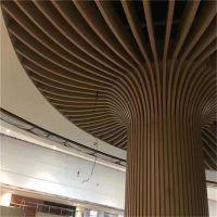 餐厅吊顶弧形铝方通销售价格