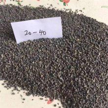 碳化硅厂家 喷砂 棕刚玉砂 大型刚结构灰色金刚砂