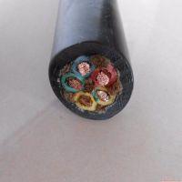 现货批发沪贤YC3*6+2*4mm通用橡套五芯电缆线,内置麻绳 优质橡胶