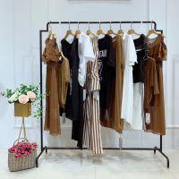 哲迪女装北京品牌折扣女装批发厂家voa连衣裙多种风格纯麻婚纱礼服