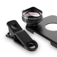 Aukey PL-WD04手机广角镜头5.5寸iphone 6+6s光学专业外置摄像头