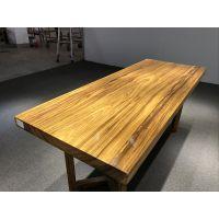 乌金木新中式大班桌会议桌椅精品实木卧室桌