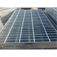 河北钢格板 厂家供应 镀锌平台板楼梯踏步钢格板 加工订做