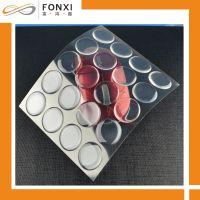 透明水晶 PU滴胶 高透明1英寸圆形滴胶贴 大批量滴塑加工