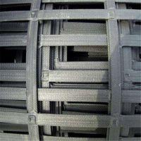 供应水产养殖特价直销 双向拉伸凸结点钢塑格栅