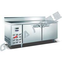 格林斯达/星星二门平台冰箱TZ400L2B冷藏工作台 标准款1.8米带靠背