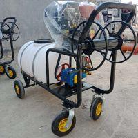 电动消毒喷洒机 农田推车式打药机 蓄电池农药喷雾器