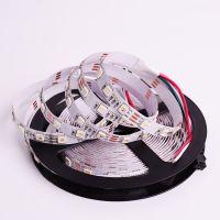 厂家全新GS8208rgb 30灯幻彩软灯条5050内置IC 可定制led全彩灯带