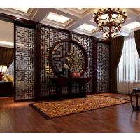 镂空专业加工典雅中式风格书房文艺棕色隔断高档潮流通花板