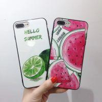 ins夏日清新柠檬西瓜苹果x手机壳文艺Y66/Y85/X21软壳套潮女款8p