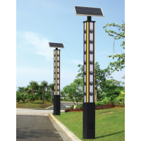 鑫永虹照明专业定制户外LED太阳能景观灯|广场小区4米30W太阳能景观灯批发